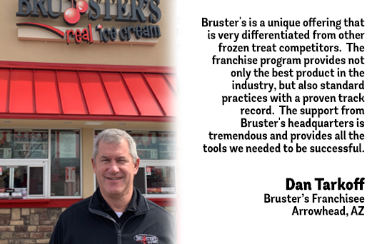 Bruster's Testimonial - Dan Tarkoff