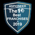 Aspioneer - 10 best franchises 2019 award